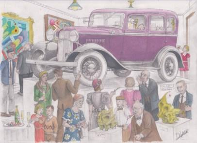 '32 Ford Model B by D. Ashton