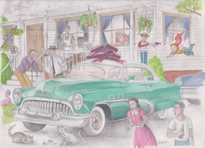 '53 Buick Rivera by D. Ashton