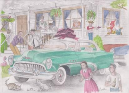 '53 Buick Rivera by D. Ashton