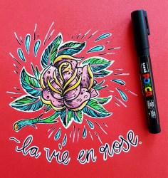 La Vie en Rose by Charlie Ghost