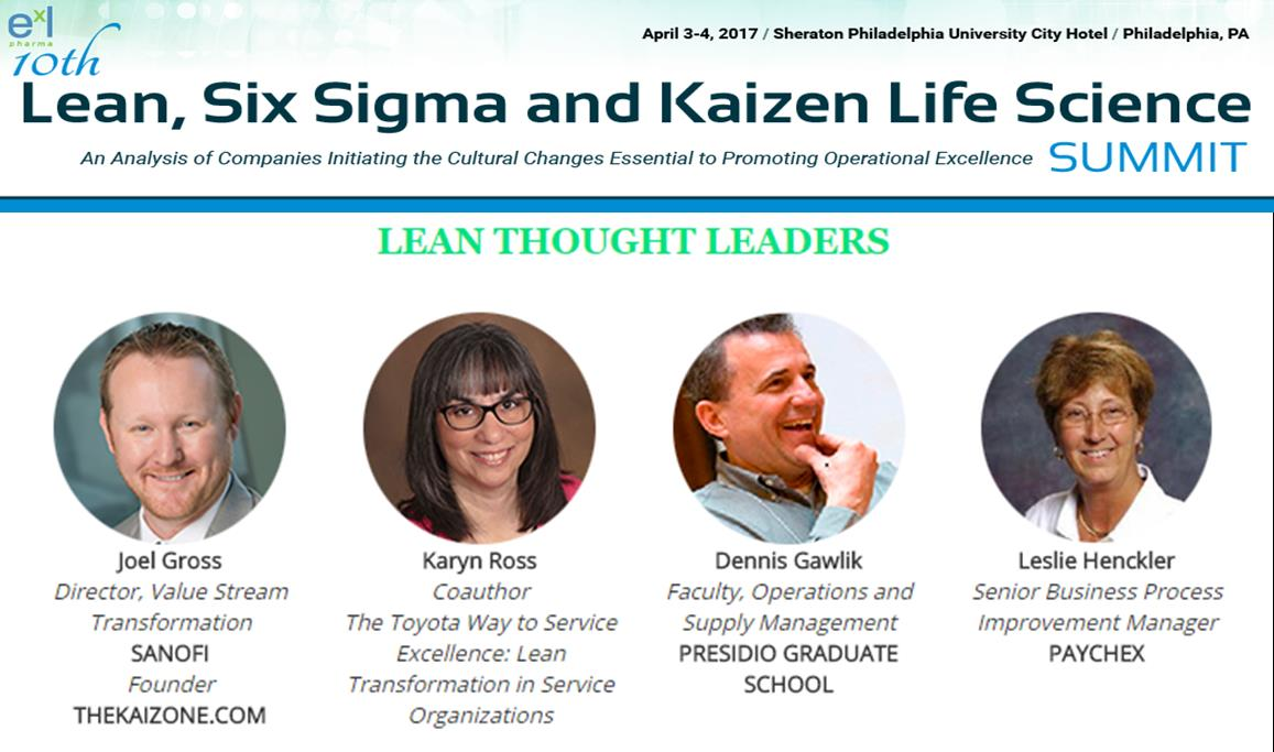 10th Lean, Six Sigma and Kaizen Life Science Summit