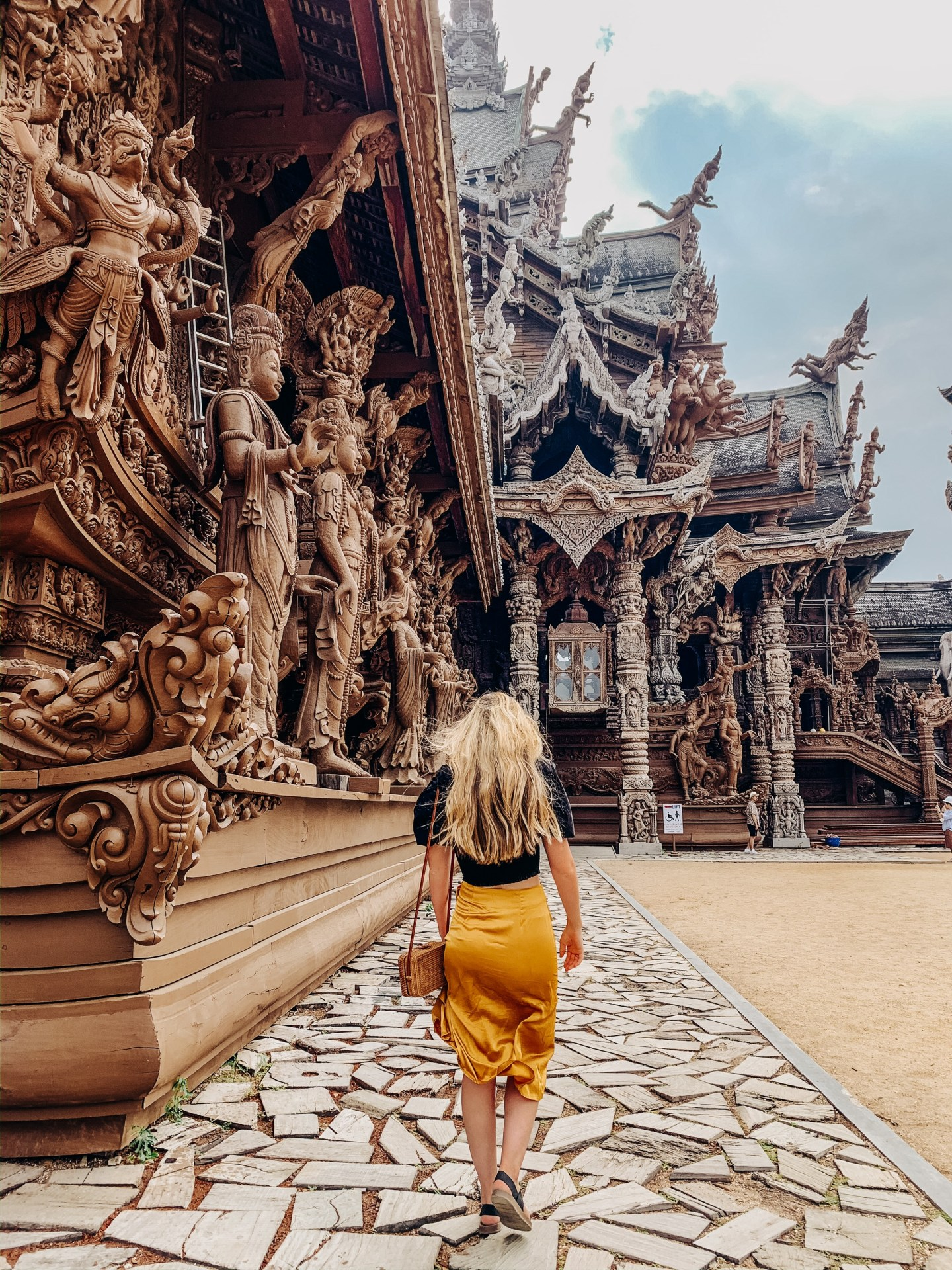 Sanctuary of Truth. Pattaya, Thailand. Construction is expected to be completed in 2050.