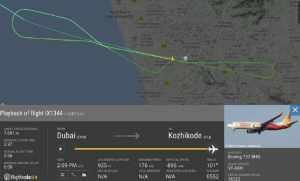 Air India Express Flight IX-1344 Skid