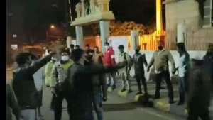 protect temple Bengaluru riots