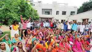sanitation workers protests