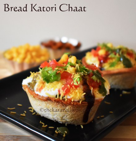Bread katori Chaat
