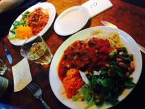 Bonnington Cafe vegetarian tagine