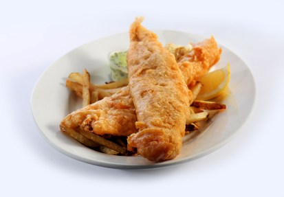 fish and chips, Friday night special, dinner entrees, Greek restaurant in Niagara Falls, Mediterranean restaurant in Niagara Falls