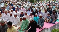 Amid unprecedented curbs Eid celebrations reduced to Eid prayers in smaller mosques in valley's residential localities
