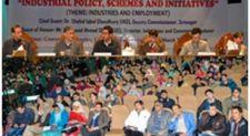 I&C Deptt organises awareness prog on industrial policy, schemes in Srinagar