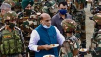 Indian Army will not let anyone take even an inch of our land: Rajnath