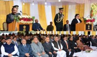 G.C Murmu sworn in as 1st Lieutenant Governor of Jammu and Kashmir