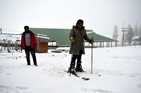 Gulmarg other heights in Kashmir receive snowfall