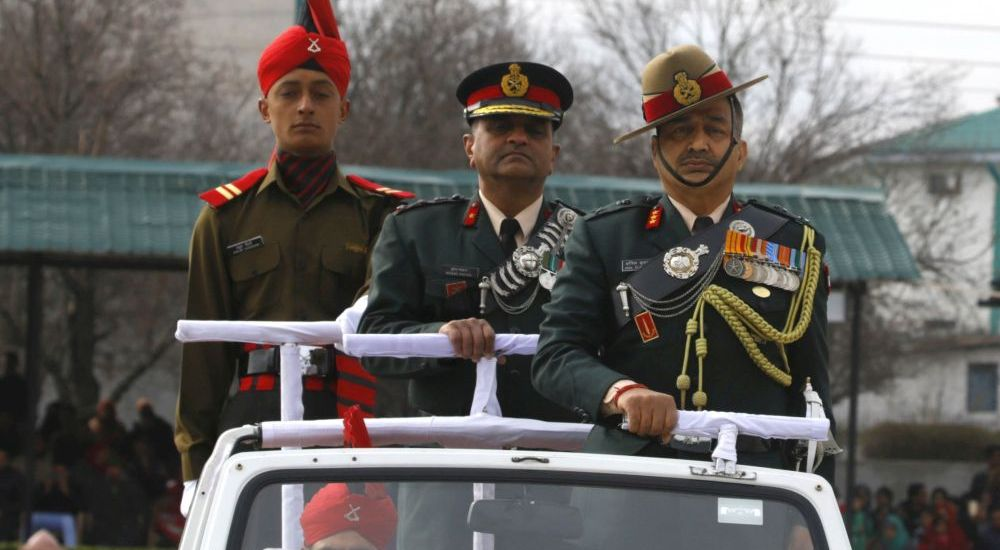 Militants in large numbers waiting to infiltrate: Lt Gen Bhatt