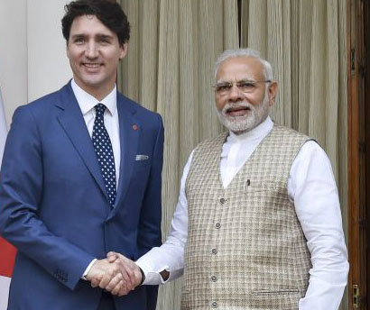 Those challenging India's unity cannot be tolerated: Modi after meeting Trudeau