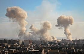 Syria, Russia pound rebel enclave, put clinic out of service