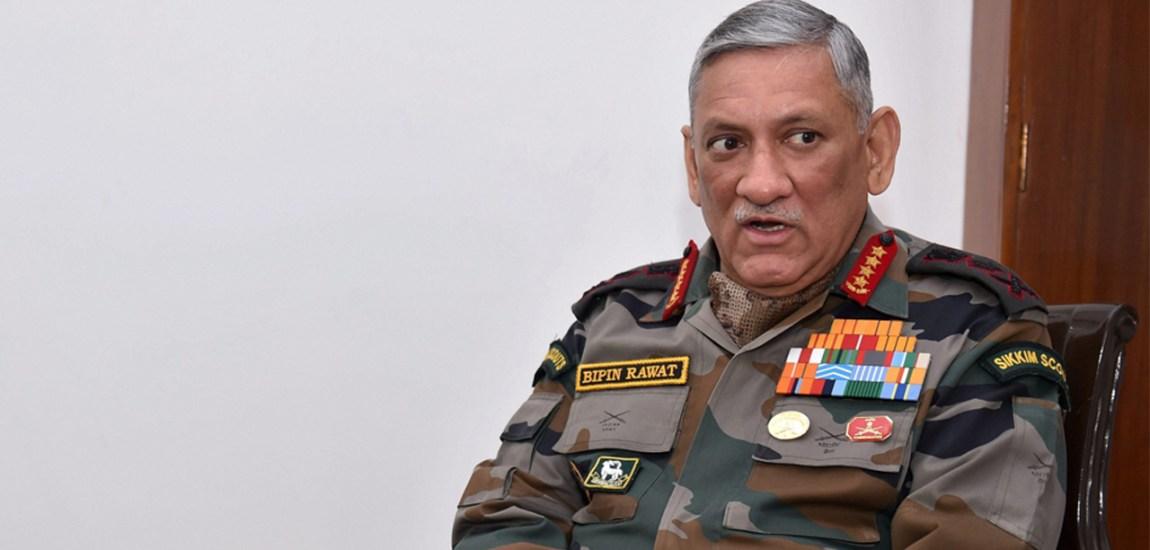 Army Chief admits raising heat along LoC