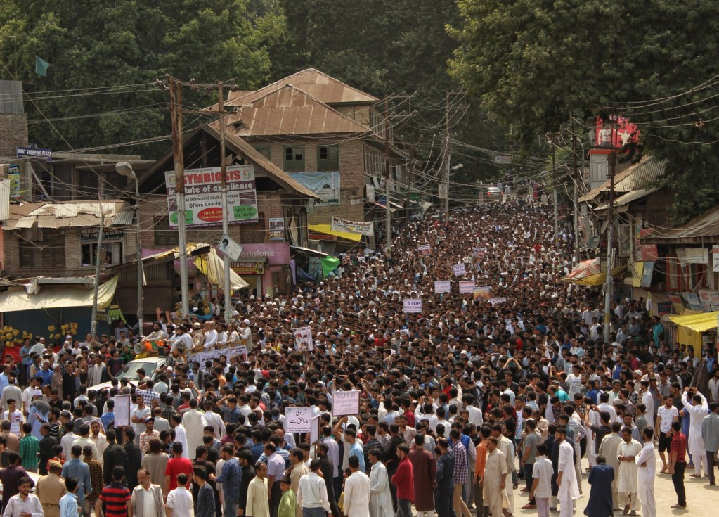 Thousands hold march to mark Quds day in Budgam   Kashmir Images ...