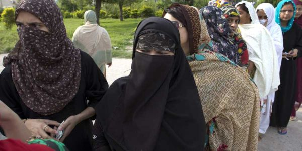 Breaking tradition, women in Pak tribal district cast their ballots for the first time