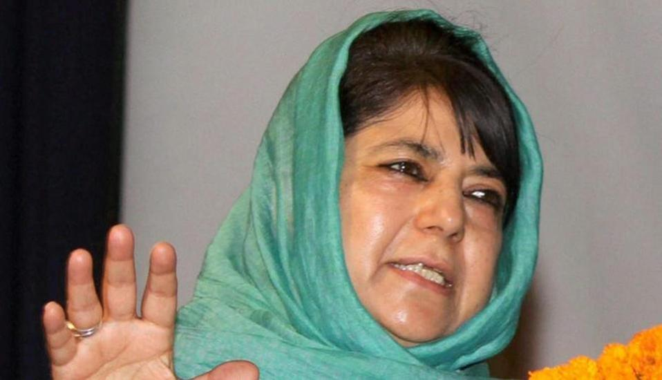 People rejected Mandir-Masjid politics: Mehbooba