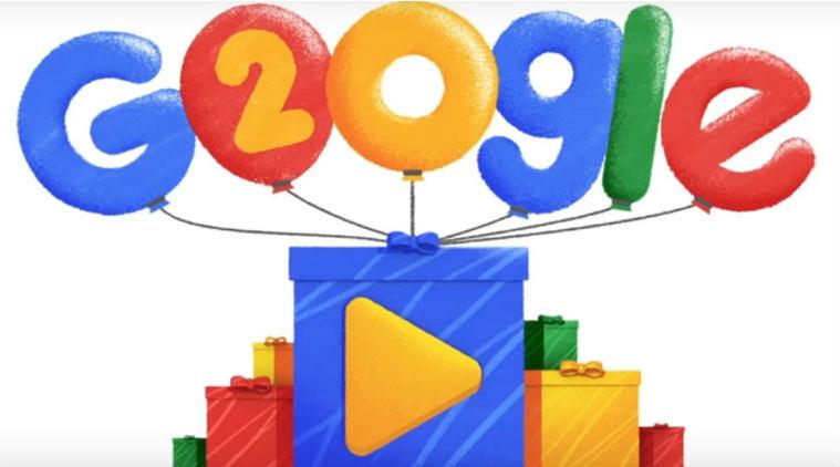 Google celebrates 20 years, walks down memory lane