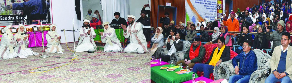 Youth convention, folk musical programme concludes at Kargil