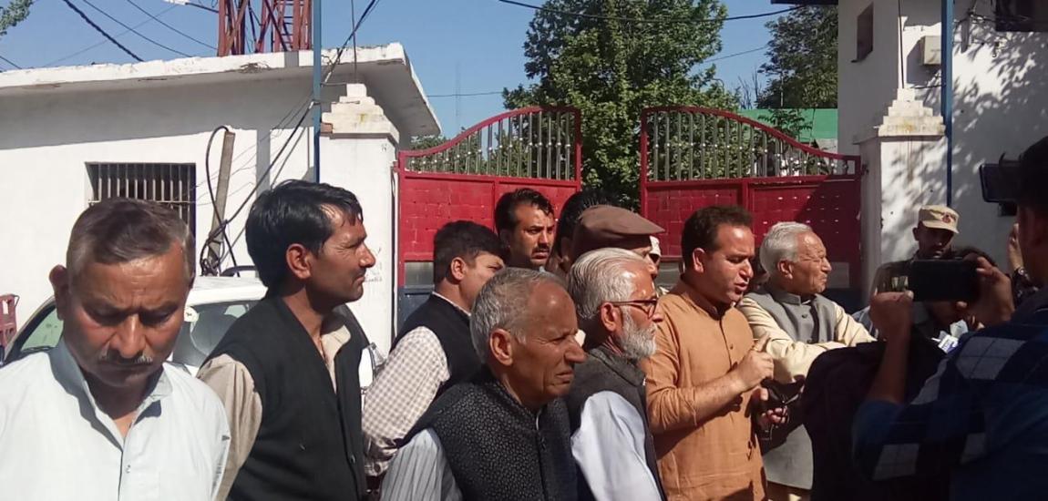 BJP leader, others offer voluntary arrest to protest recent killings in Kishtwar