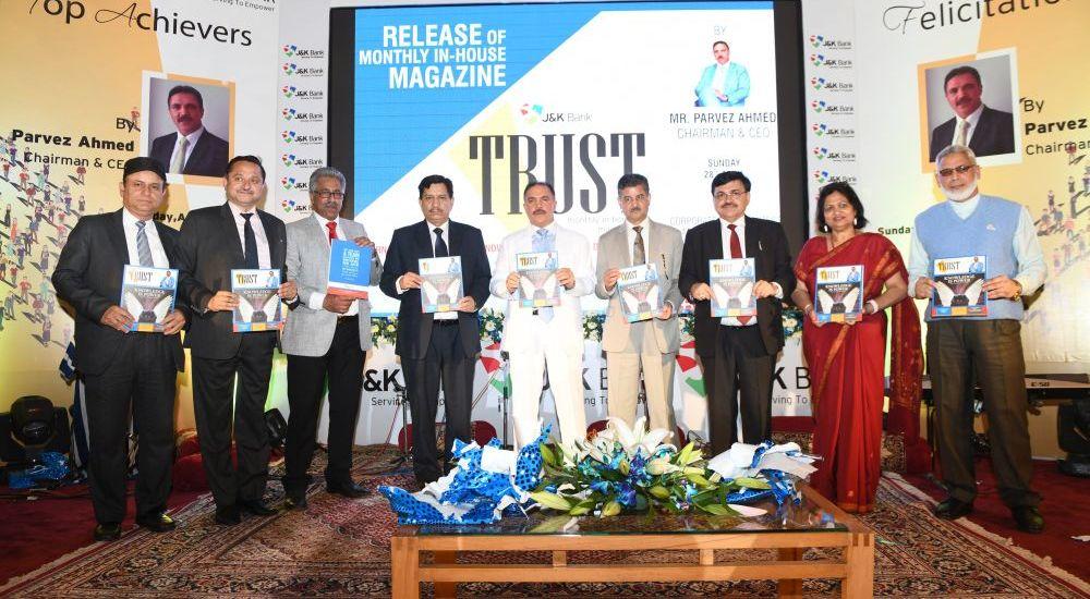 Chairman JK Bank launches Bank's Internal Communication & Knowledge Management initiative