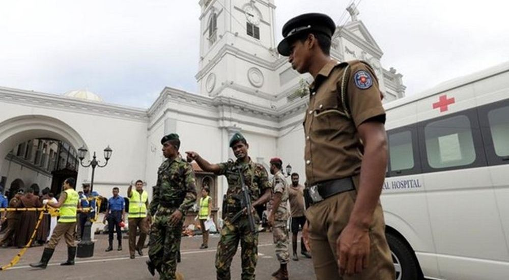 Easter attacks: Three suspects arrested, van seized