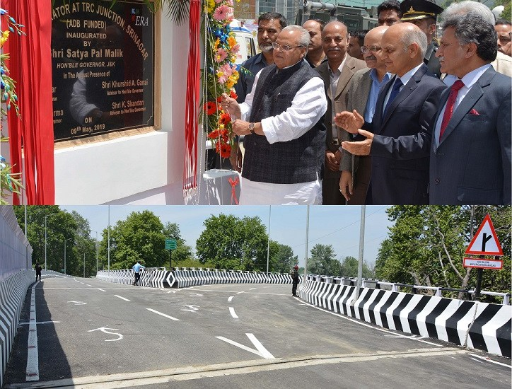 Guv inaugurates grade separator at TRC crossing