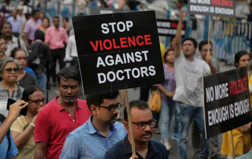 Violence against Doctors: An Issue of grave concern