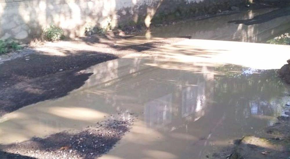 Defunct drainage system causes waterlogging in Ganderbal village