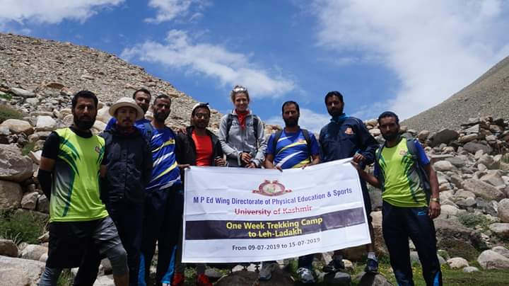 First-ever trekking camp of Directorate of Physical Education KU concludes in Ladakh