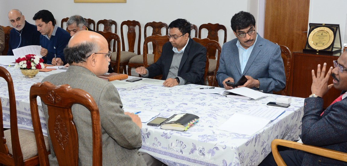 Lt Governor reviews functioning of Industries and Commerce Department