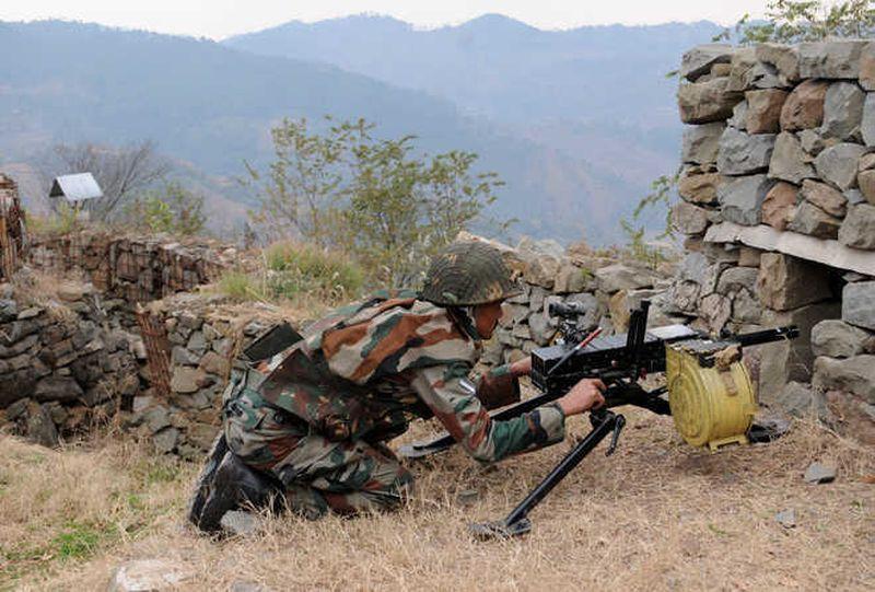 Pak shells two sectors along LoC in Poonch