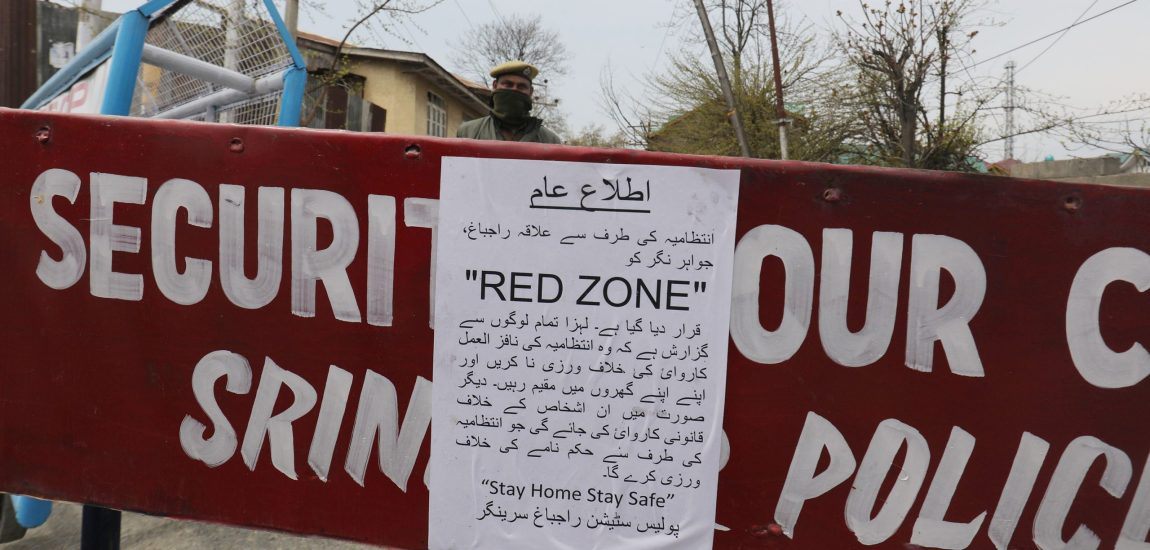 All districts except Bandipora in Kashmir categorised as red zones