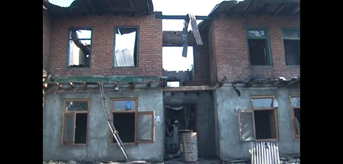 Residential house of three families gutted in fire in Tangmarg