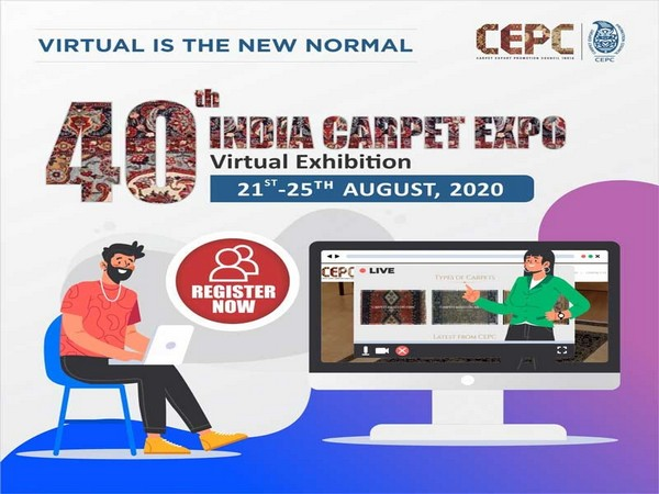 40th India Carpet Expo 'Virtual Exhibition' from Aug 21