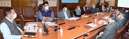 Advisor Bhatnagar reviews progress on PMDP projects for Comprehensive Flood Management
