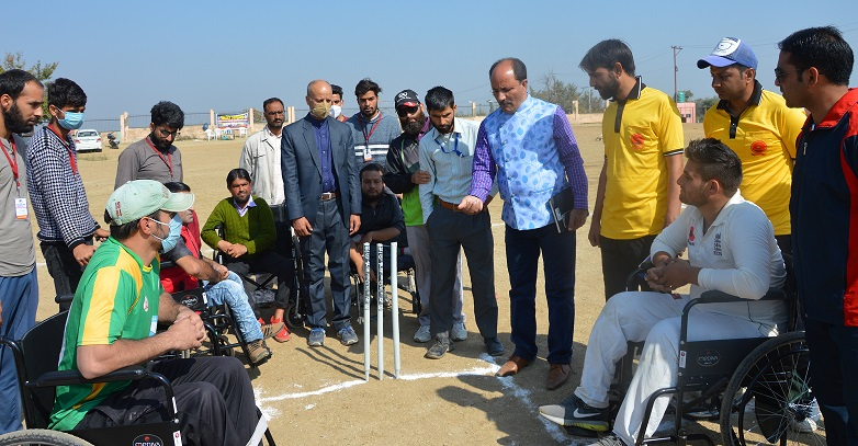 Cricket tournament for Specially Abled Youth inaugurated in Budgam