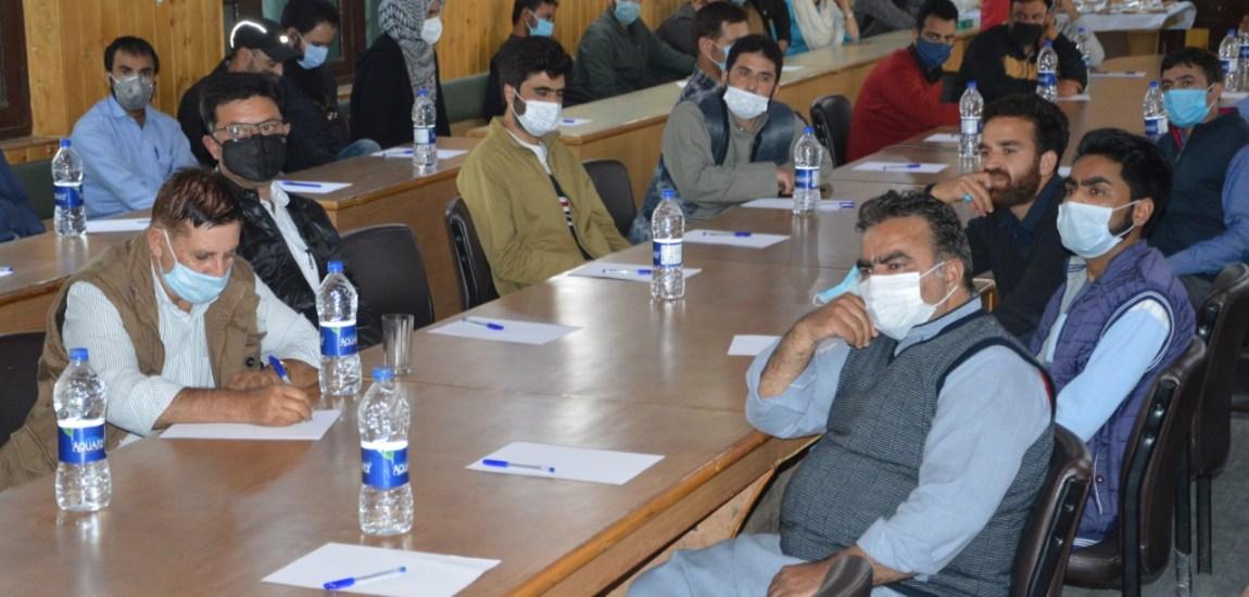 Workshop cum seminar on GeM held at Sanatnagar, Srinagar