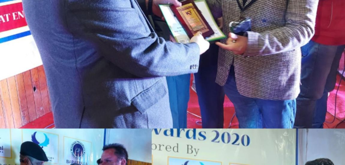 People from cross section of society awarded at Infotel-2020
