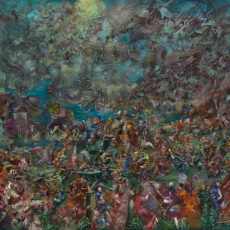 Ali Banisadr: Artist and Artwork