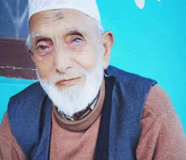 Molvi Peer Mohammad Maqsood, Imam and Khatib of Baba Payam-u-Din Reshi (RA) Shrine, passes away