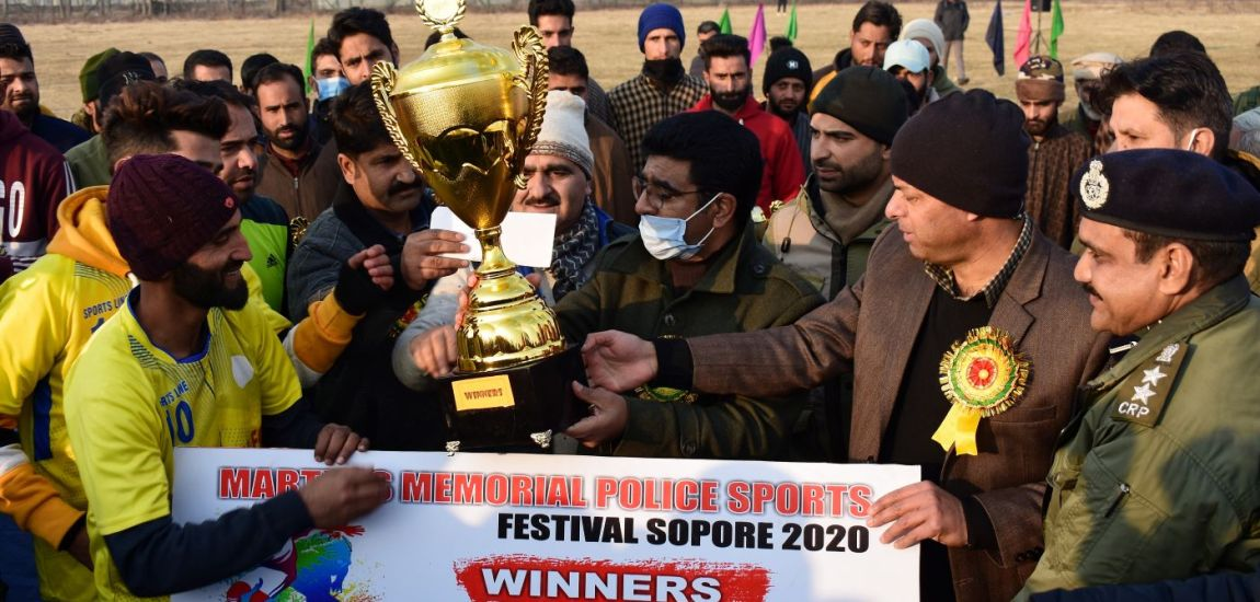 Police Martyrs Sports festival concludes in Sopore