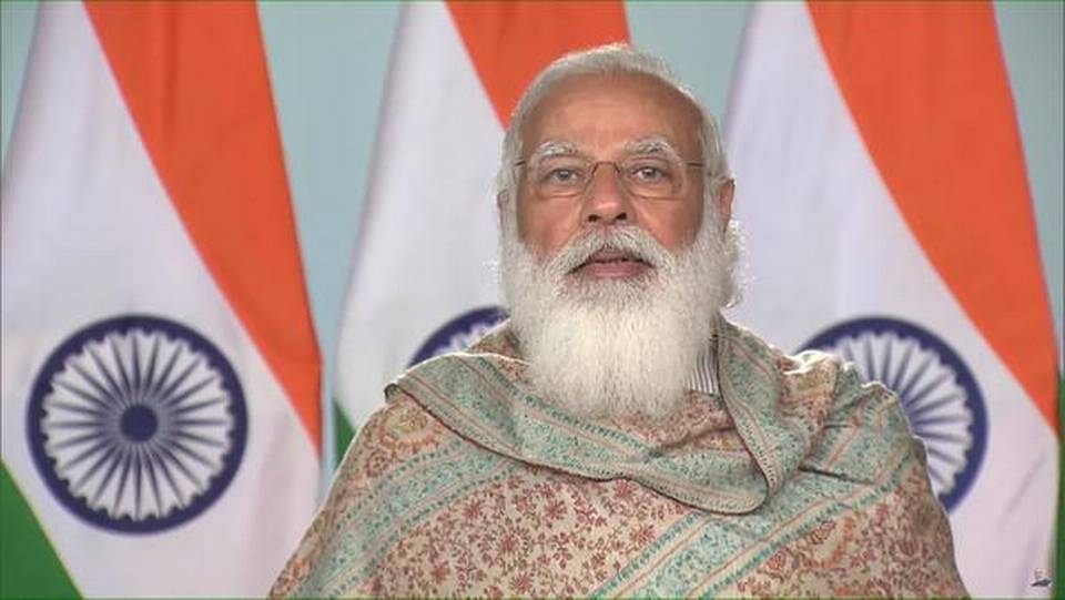Need to work on mission mode to overcome language barriers for allowing talent to flourish: PM