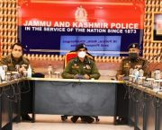 IGP Kashmir interacts with probationary IPS Officers at PCR Kashmir