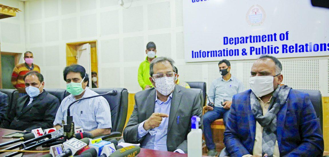 No shortage of oxygen, remdesivir, COVID vaccine in J&K: LG's advisor