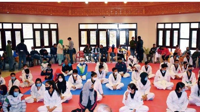 Taekwondo Coaching Classes resume in Gindun Sports Complex: J&K Sports Council