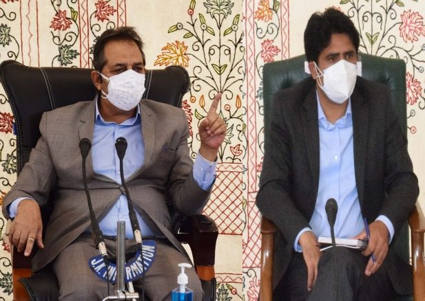 Baseer Khan pitches for community-level involvement to tackle pandemic